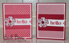 Stuck on Stampin': in color dahlias