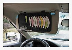 Visor organiser #autocare - cd dvd holder cards coins #wallet in car #storage gif,  View more on the LINK: http://www.zeppy.io/product/gb/2/171298460862/