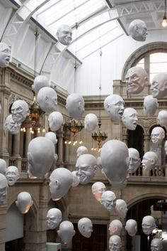 What we should do with any unclaimed clay heads...Glasgow