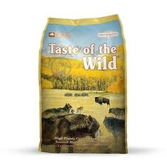 Taste Of The Wild High Prairie With Venison & Bison Complete Adult Hondenvoer Dogf … - Engelse Bulldog Best Dry Dog Food, Dog Food Comparison, Dog Food Reviews, Free Dog Food, Dog Food Brands, Grain Foods, Dog Activities, Wild Dogs, Shopping