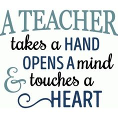 Silhouette Design Store - Search Designs : a teacher takes a hand