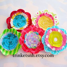 Sewn+Fabric+Flowers+Embellishment+Set+by+trinketsnh+on+Etsy,+$6.75