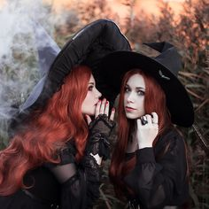 Koyu sur Instagram : « They called us a Witches 🌙 Out truly October related photoshoot with @supervisorcosplay Ph: @eternal_jesus #witchtober #witch #witchcraft… » Witch Photos, Halloween Photos, Vintage Halloween, Halloween Photo Shoots, Autumn Witch, Fantasy Witch, Beautiful Dark Art, Halloween Photography, Season Of The Witch