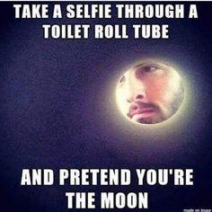 Moon selfie 😉😆