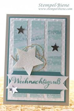 Winter Christmas Card Stampin Up Winter Christmas Card . - Winter Christmas card Stampin Up Winter Christmas Card, Stampin Up Christmas Trio, - Merry Christmas Card, Stampin Up Christmas, Winter Christmas, Handmade Christmas, Holiday Cards, Winter Girl, Winter Night, Star Cards, Handmade Birthday Cards