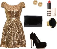 Cuuute. This is what I want for my New Years Eve outfit.