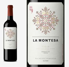 Wine Packaging , La Montesa, Palacios, Spain