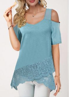 Stylish Tops For Girls, Trendy Tops, Trendy Fashion Tops, Trendy Tops For Women Page 8 Mode Outfits, Chic Outfits, Fashion Outfits, Womens Fashion, Cheap Fashion, Trendy Tops For Women, Blouses For Women, Stylish Tops, Crossover