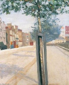 Paul Fordyce Maitland Cheyne Walk in Sunshine, oil on canvas, x cm Walking In Sunshine, York Museum, York Art Gallery, Chelsea London, London Museums, Reproduction, Art Uk, London Art, Your Paintings