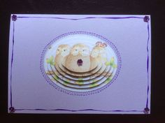Decoupage card for Marilen 2015