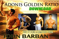 """Adonis Golden Ratio is a twelve week workout and nutrition program which is marketed as """"The Perfect Body Formula"""". The goal of the program is to get you closer to the classic V-shaped physique with broad shoulders and a narrow waist.   The promise which Adonis Golden Ratio makes to you is that your very masculinity, your male DNA, will allow you to slash pounds of fat from your body while building attractive muscle at the same time – if you know how."""