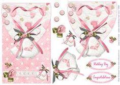 Wedding Bells Envelope Card Front