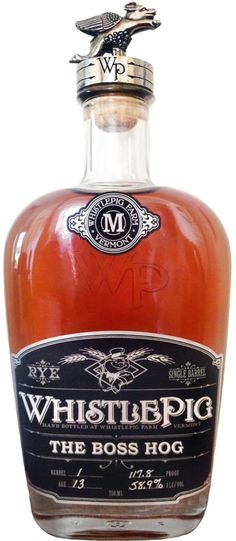 WhistlePig The Boss Hog Spirit of Mortimer Straight Rye Whiskey | @Caskers