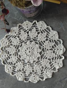 Items similar to Viscose crochet Doily Vintage look hand crochet handmade table mats great for home or wedding decor on Etsy Crochet Doilies, Hand Crochet, Handmade Table, Handmade Gifts, Vintage Looks, Crochet Earrings, Wedding Decorations, Trending Outfits, Unique Jewelry