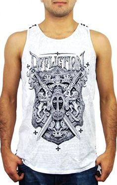 8% Off was $49.00, now is $44.95! Affliction Lion Seal Tank Top