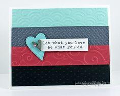 Handmade Card...By: cardmakermagazine