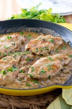 - Easy Creamy Chicken Marsala
