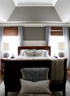 Giveaway and Reveal!  My Master Bedroom Makeover with Sherwin-Williams