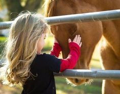 Little girls and horses!