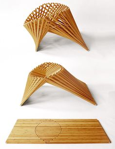 Rising Chair de Robert van Embricqs trois plans