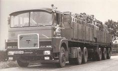 Huge Truck, Heavy Duty Trucks, Old Trucks, Volvo, Cars And Motorcycles, Netherlands, Transportation, Vehicles, Vintage