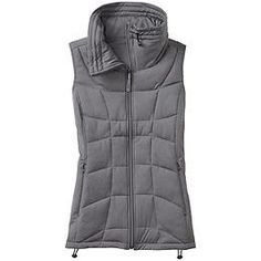 Vistaline Vest - The layering vest with a cute oversized funnel neck and synthetic insulation to make sure it stays warm even if it gets wet.