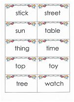 Printable flashcards of all 220 Dolch sight words and the 95 nouns from www.preschool-printable-activities.com