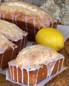 Glazed Lemon Loaf with Rum
