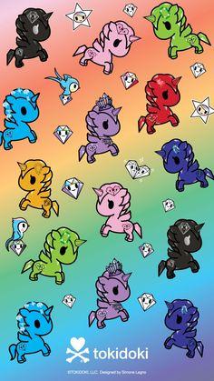 Unicorno Gems Wallpaper