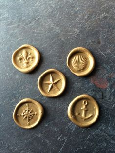 Nautical multi pack wax seal stickers on Etsy, $16.99