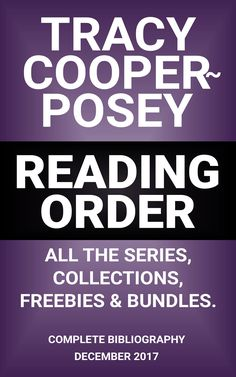 READING ORDER.  All the series, collections, freebies and bundles, listed on one place. Updated, 2017 edition.