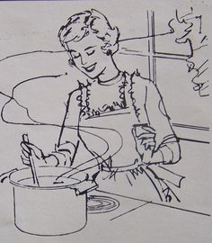 Home Cooking Illustration image by relicsandcollectables