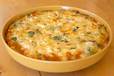 LCHF till vardag och fest: Laxpaj med broccoli och ädelost (LCHF)