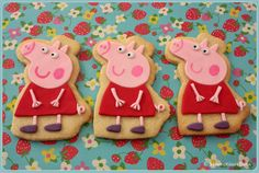 Peppa Pig from Sharon Mayzen.  Just so much fun! AFS