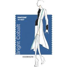 PANTONE Fashion Color Report – Fall 2014 – Bright Cobalt – BCBGMAXAZRIA