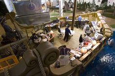 pirate ship office