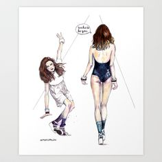 Sucks To Be You Art Print by Meegan Barnes - $26.00