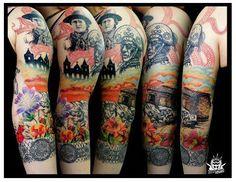 Tatuagem cicatrizada feita por Danovann Demétrius.