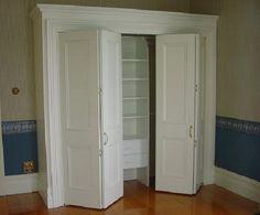 Shaker Style Bi Fold Closet Doors Doors Pinterest
