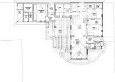 Egyszintes családi ház 178 m2 | Családiházam.hu House Plans, New Homes, Floor Plans, Farmhouse, How To Plan, Home Layouts, Blue Prints, Home, House