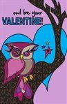 Valentine's Owl Card #ValentinesDay #Party #Ideas #DIY #Printable #cards #invitations #crafts for #kids