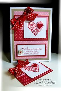 PS: I Love You stamp set - love the little heart within the large heart!