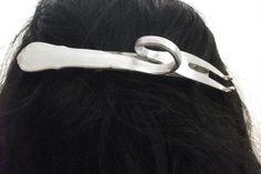 Fleischgabel-Haarspange  Besteckschmuck HS116 von Atelier Regina auf DaWanda.com