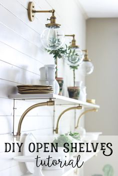 Easy DIY open shelve