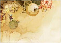 Иллюстрации Ким Мин Джи.