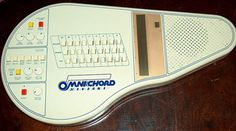Omnichord was marketed by Suzuki in the early 1980s as an instrument targeted at beginners. Playing music required no more than pressing a chord key and strumming the touch-sensitive pad. Professional musicians started picking up this odd little electronic gadget. Robbie Williams, David Bowie, Dave Stewart of the Eurythmics, Bjork, and even Ringo Starr have used them in the studio. Even novice players can play an Omnichord effectively.