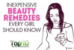 10 Inexpensive Beauty Remedies Every Girl Should Know. Removing sun spots