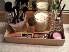 AT THE PARK'S: make up storage update