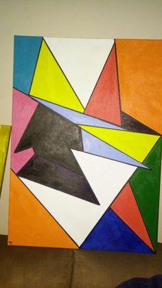 A seta geometria 50/70
