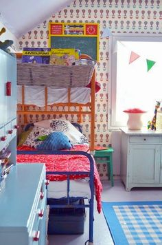 the boo and the boy: small room inspiration with bunk beds